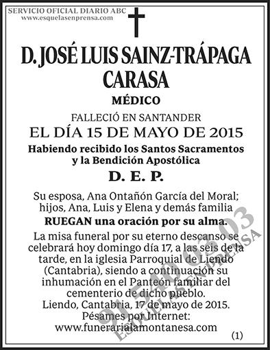 José Luis Sainz-Trápaga Carasa